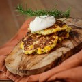 corn-fritters-with-herb-butter